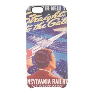 Poster 1939 de Nueva York de la feria de mundos Funda Clearly™ Deflector Para iPhone 6 De Uncommon