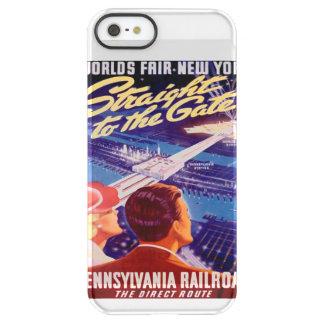 Poster 1939 de Nueva York de la feria de mundos Funda Permafrost™ Deflector Para iPhone 5 De Uncom