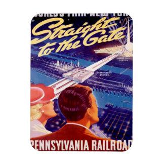 Poster 1939 de Nueva York de la feria de mundos Imanes Flexibles