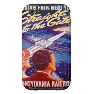 Poster 1939 de Nueva York de la feria de mundos iPhone 3 Tough Carcasas