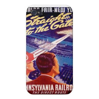 Poster 1939 de Nueva York de la feria de mundos iPhone 4/4S Funda