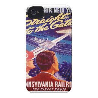 Poster 1939 de Nueva York de la feria de mundos iPhone 4 Case-Mate Carcasas