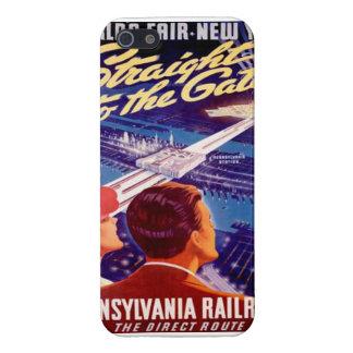 Poster 1939 de Nueva York de la feria de mundos iPhone 5 Carcasas