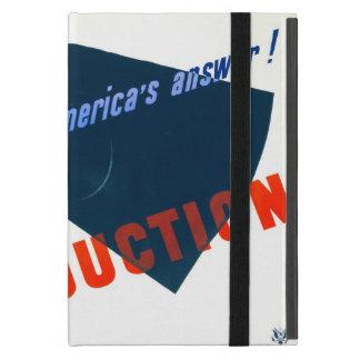Poster 1941 de la guerra del vintage iPad mini coberturas