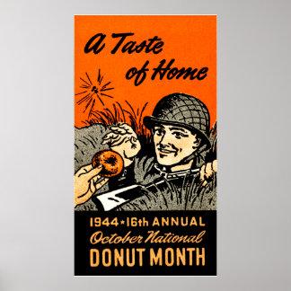 Poster 1944 del buñuelo póster