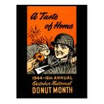 Poster 1944 del buñuelo tarjetas postales