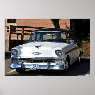 Poster 1955 del Bel Air de Chevy