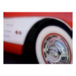 Poster 1960 de Chevrolet Corvette