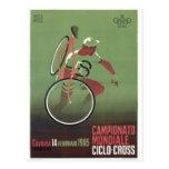 poster 1965 de la Ciclo-cruz Tarjeta Postal