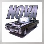 Poster 1966 de Chevy Nova