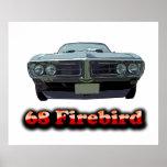 Poster 1968 de Firebird