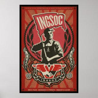 Poster 1984 de la propaganda de INGSOC