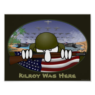 Poster 1 de Kilroy de la guerra mundial 2