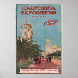 Poster #1 de las exposiciones de California