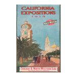 Poster #1 de las exposiciones de California Impresión De Lienzo