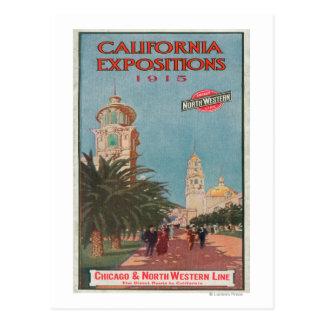 Poster #1 de las exposiciones de California Postales