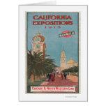 Poster #1 de las exposiciones de California Tarjetón