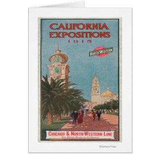 Poster #1 de las exposiciones de California Tarjeta De Felicitación