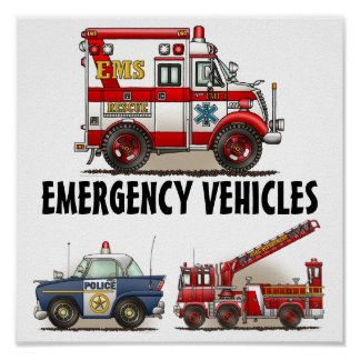 Poster 1 de los vehículos de Emergiency