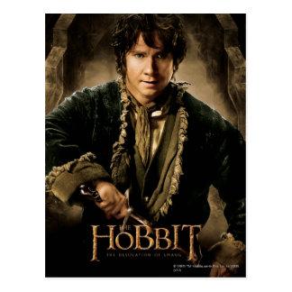 Poster 1 del carácter de Bilbo Tarjetas Postales