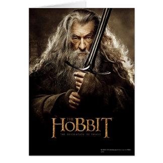 Poster 1 del carácter de Gandalf Felicitación