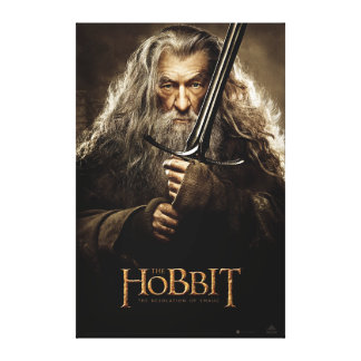 Poster 1 del carácter de Gandalf Impresiones En Lienzo Estiradas