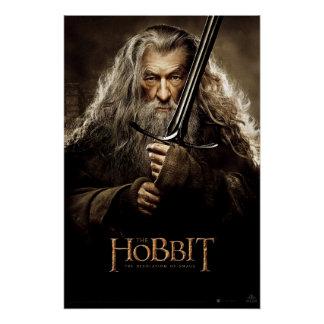 Poster 1 del carácter de Gandalf Perfect Poster