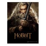 Poster 1 del carácter de Gandalf Tarjetas Postales