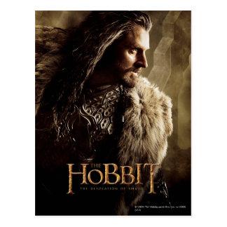 Poster 1 del carácter de Thorin Tarjetas Postales