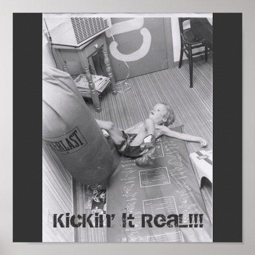 ¡Poster 1 KicKin de Pisano del equipo él real!!!