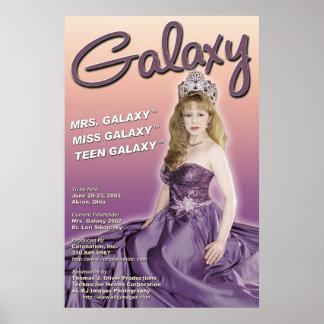 Poster 2002 del promo del desfile de la galaxia