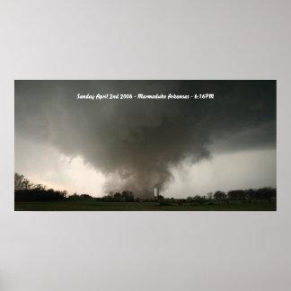 Poster 2006 del tornado de Marmaduke