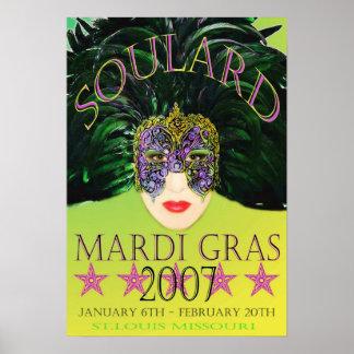 Poster 2007 de la máscara del carnaval St. Louis
