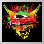 Poster 2007 del Corvette