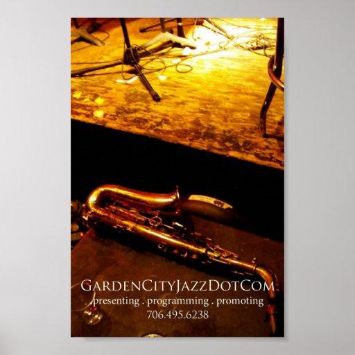 Poster 2008 del promo del jazz de la ciudad jardín