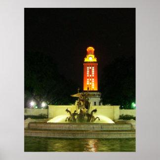 Poster 2009 de la torre de Tejas