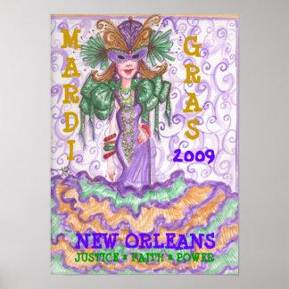 Poster 2009 del carnaval póster