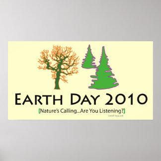 poster 2010 del Día de la Tierra del oddFrogg