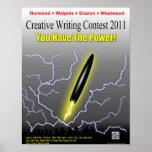 Poster 2011 de la competencia de la escritura de l