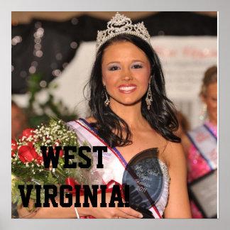 Poster 2011 de señora Virginia Occidental
