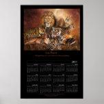 Poster 2011 del calendario del arte de Cat Power