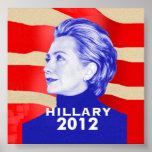Poster 2012 de Hillary
