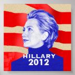 Poster 2012 de Hillary Clinton