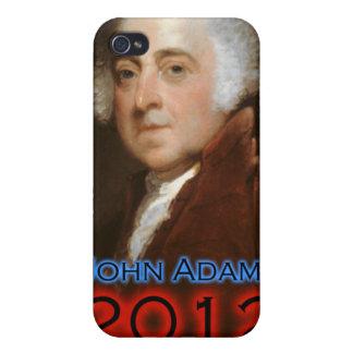 Poster 2012 de John Adams iPhone 4 Cárcasas