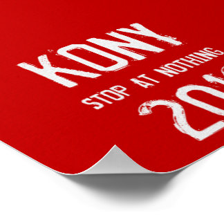 Poster 2012 de Kony