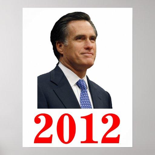 Poster 2012 de Mitt Romney