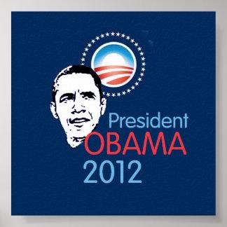 Poster 2012 de Obama