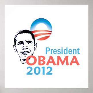 Poster 2012 de Obama Póster