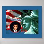 Poster 2012 de Romney