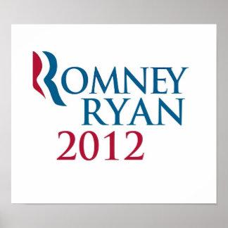 Poster 2012 de Romney/de Ryan